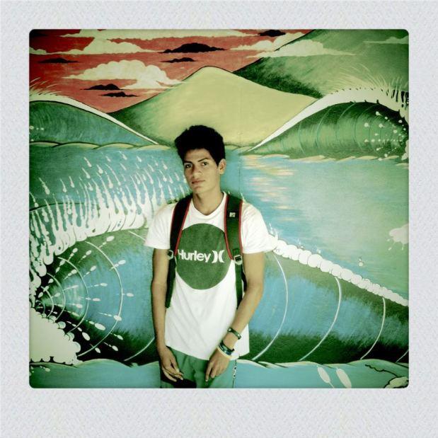 Local Surfer Artist EltonSanchez