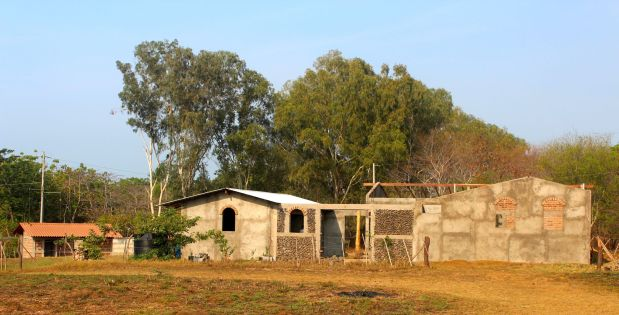 Lot #22 House Construction Progress in LateApril